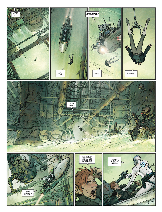 Extrait 1 : Final Incal T1 : Les Quatre John Difool