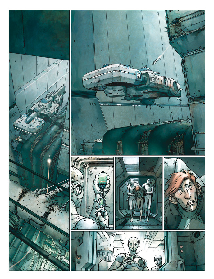 Extrait 2 : Final Incal T1 : Les Quatre John Difool